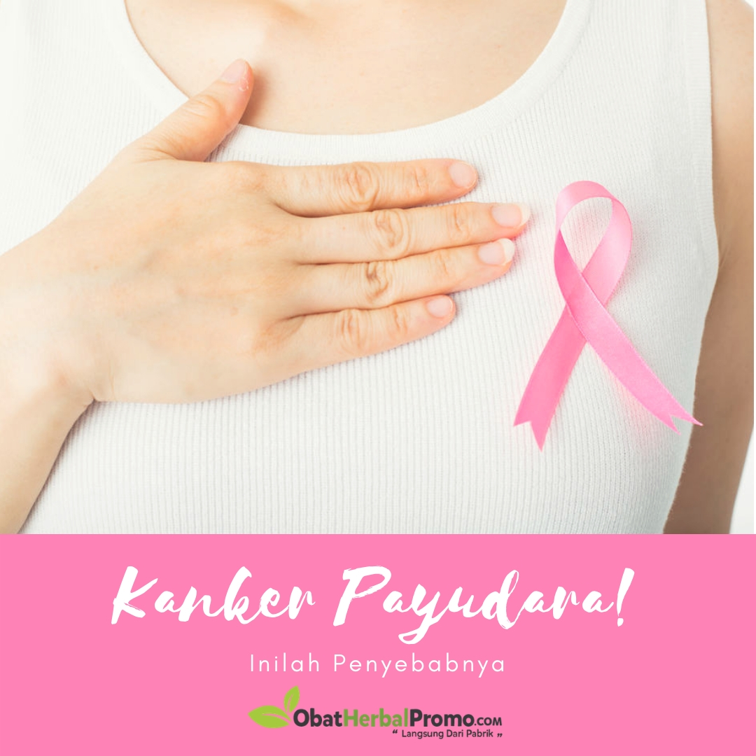 Ketahuilah, Ini Penyebab Kanker Payudara! - Obat Herbal Promo